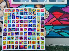 The 100 Blocks in 50 days Project sponsored by Janome and Michael Miller Fabrics will soon be wrapping up. I shared lots of links and giveaway info about the project back in November,100 Quilt Blo...