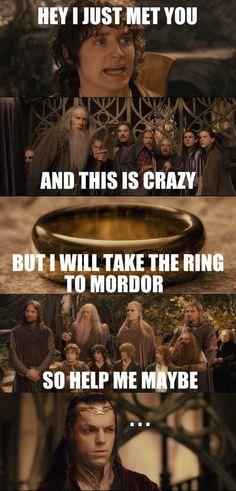 Senhor dos aneis!!!!!! Muito legal