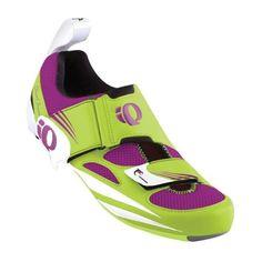 Pearl Izumi - Run Women's Tri Fly IV Carbon Cycling Shoe,White/White,36 EU/5.2 D US