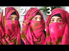 3 Easy layerd Hijab with Niqab/Everyday Hijab Niqab/Easy layerd Hijab - YouTube Hijab Niqab, Hijab Fashion, Elegant, Easy, Youtube, Classy, Hijab Fashion Style, Youtubers, Chic