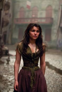 Samantha Barks as Eponine in Les Miserables. Les Miserables was such a powerful film. I cried and felt for the characters mainly Eponine because i can relate to her very well but it was so powerful and intense I found it very inspiring. Eponine Les Miserables, Les Miserables Movie, Les Miserables 2012, Les Miserables Characters, Jean Valjean, Dawson Creek, Hugh Jackman, Les Miserables Costumes, 2012 Movie
