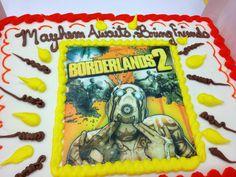 borderlands cake - Google Search