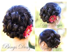 Up-do bridal hairstyle for long hair. For more great ideas and information about our venues visit our website www.tidewaterwedding.com or give us a call 443 786 7220