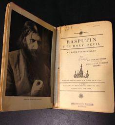 Rasputin The Holy Devil By Rene Fulop-miller Hc 1st Edition 1928 Book Vintage