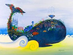 Serenity Whale by Theresa LaBrecque | Piece Time Puzzles