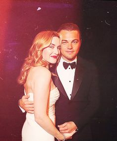 Leonardo DiCaprio and Kate Winselt