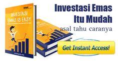 """#berbagi - Yuk dapatkan eBook """"Investasi Emas is Easy"""". Cukup dengan klik link berikut ini."""
