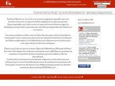 The website 'http://www.lekti-ecriture.com/' courtesy of Pinstamatic (http://pinstamatic.com)