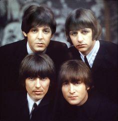 Paul, Ringo, John and George 1965