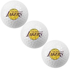 LA #Lakers golf ball set! Start your drives off right.