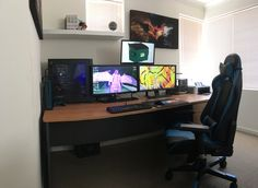Battlestation from down under :) (updated setup)