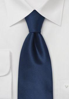 Dark Navy Tie for Groom