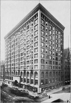 Louis Sullivan Architecture | ... EXCHANGE BUILDING, CHICAGO, ILL. Louis H. Sullivan, Architect, Chicago