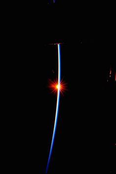 "Sunrise #2,721   International Space Station Scott: ""Sunrise 2,721 riding the horizon at the [mission] halfway point.""  Credit: NASA/JSC, U.S. Astronaut Scott Kelly Release Date: September 15, 2015"