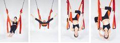 Yoga Inversions On The Wild Yoga Trapeze