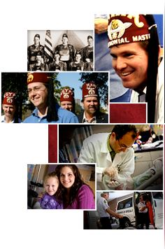 Shriners - one day when I'm rich I will donate a ton of money to this organization to thank them for all they did for me!