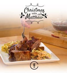 This festive recipe is none other than some boozy short-rib accompanied by a posh coleslaw. Be sure to stock up on some good quality rum for this – dark rum contains infusions of orange and vanilla, which will help bring out the 'Christmasy' flavours.