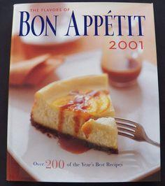 $3.50 Bon Appetit 2001 2001 HC DJ 1st ed. (72516-372) cookbooks
