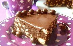 Torta cioccobiscotto con ganache alla Nutella