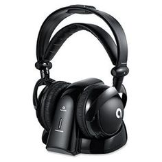 AudioMX Wireless RF Over-Ear Headphones for TV with GHz Digital Transmitter Charging Dock, mm and mm Audio Connector, RCA Wireless Headphones For Running, Wireless Headphones For Tv, Best Noise Cancelling Headphones, Best Headphones, Headphone With Mic, Over Ear Headphones, Wireless Home Theater, Audio Amplifier, Toys