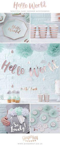 9d7bafc2c 29 Best Hello World Baby Shower images in 2019