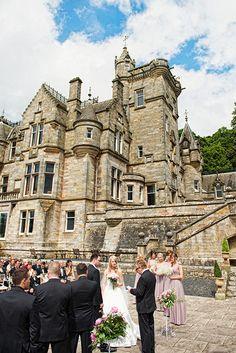 Kinnettles Castle wedding venue in Angus