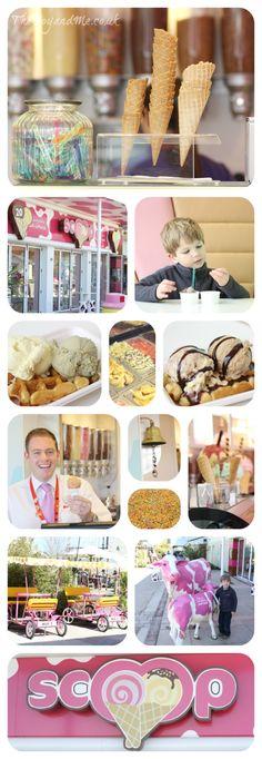 Scoop ice-cream parlour - Butlin's, Bognor Regis