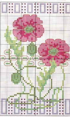 New Embroidery Art Deco Cross Stitch Charts Ideas Stitch Book, Cross Stitch Art, Cross Stitch Flowers, Cross Stitch Designs, Cross Stitching, Cross Stitch Patterns, Embroidery Art, Cross Stitch Embroidery, Embroidery Patterns