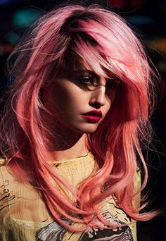 by Nicholas Jurnjack...love the color pink