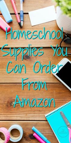 Looking for a list of homeschool supplies? Need tips on where to buy your supplies? Check out this post for 10 homeschool supplies from Amazon! #Homeschooling #HomeschoolSupplies #Amazon #AmazonPrime #HomeschoolMom #Education #HomeEducation #Frugal #HomeschoolTips #SavingMoney