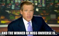 Next year the host for Miss Universe will be...