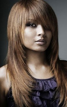 Modèles coupes de cheveux mi longs - http://lookvisage.ru/modles ...