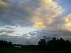 Evening sky in Va