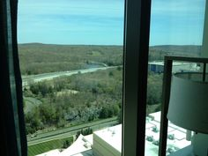 View from the hotel room at MGM Foxwoods in Mashantucket, CT for my first stop on my East Coast Tour.