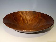 """Walnut bowl, 12"""" diameter"""