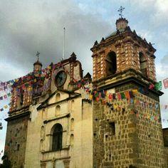 Iglesia de Tlacolula de Matamoros, Oaxaca.