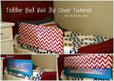 Toddler Bed Rail Tutorial
