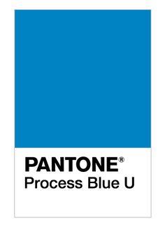 pantone process blue u