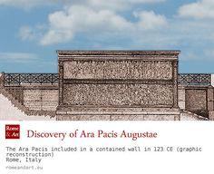 The discovery of the Ara Pacis Augustae ... (en) http://www.romeandart.eu/en/art-ara-pacis.html UPDATE VIRTUAL TOUR: http://tourvirtuale.arapacis.it/eng/index.html (ita) www.romeandart.eu/it/arte-ara-pacis.html AGGIORNATO