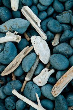 Driftwood & Rocks