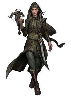 f Rogue Thief/ Cleric multi-class w hand crossbow cape Zahrah, Pathfinder