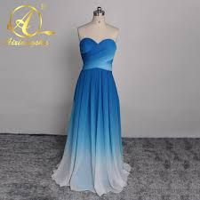 Image result for blue ombre bridesmaid dresses