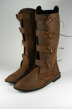 Viking boots made for the Up Helly Aa Viking festival in Shetland 2011. Price on application!