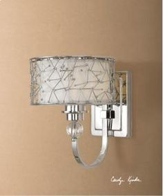 22484 Uttermost Brandon, 1 Lt Wall Sconce in Portland and Lake Oswego, OR http://keyhomefurnishings.com, Lake Oswego, Oregon.