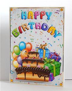 Happy Birthday on Craftsuprint - View Now!