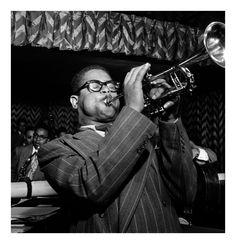 Dizzy Gillespie black & white - Google zoeken