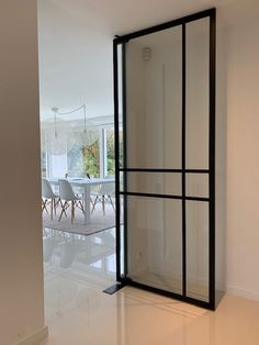 Flush Doors, Pivot Doors, Internal Doors, Door Design, House Design, Hallway Flooring, Beautiful Home Designs, Space Architecture, House Entrance