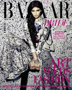 Athiya Shetty - Harper's Bazaar Bride May 2015