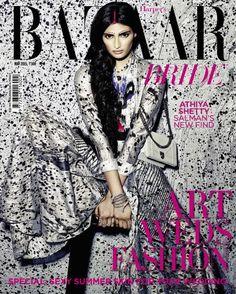 Athiya Shetty - Harper's Bazaar Bride May 2015