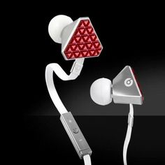 Heart Beats By Lady Gaga In-Ear Headphones Red by Monster